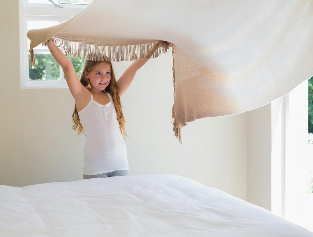 Haz tu cama cada día al levantarte