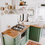 Ideas de cocinas rústicas con toques retro