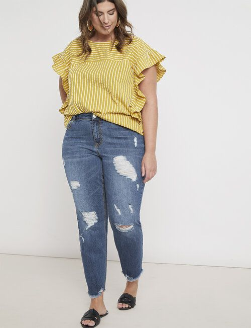 Ideas de looks casuales con jeans plus size