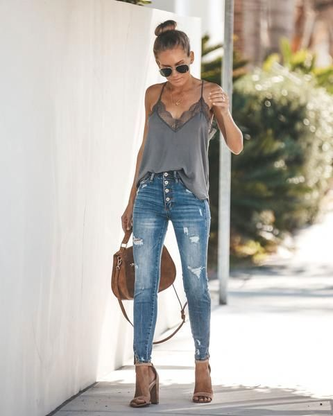 Looks con skinny jeans