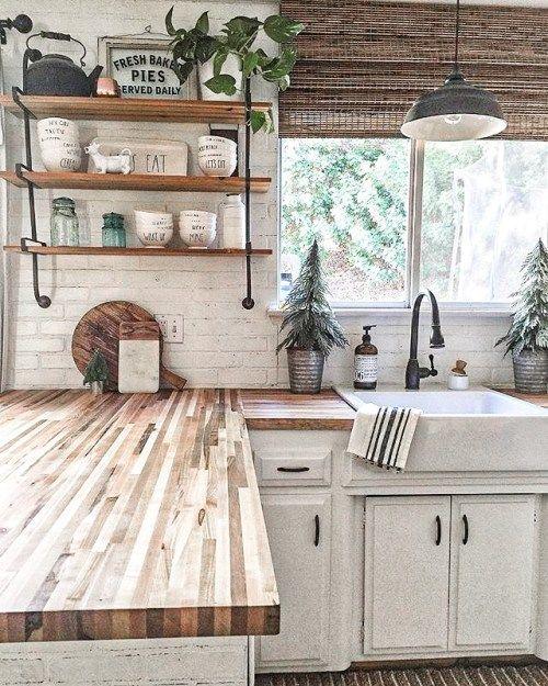 Ideas para una cocina rustica sencilla