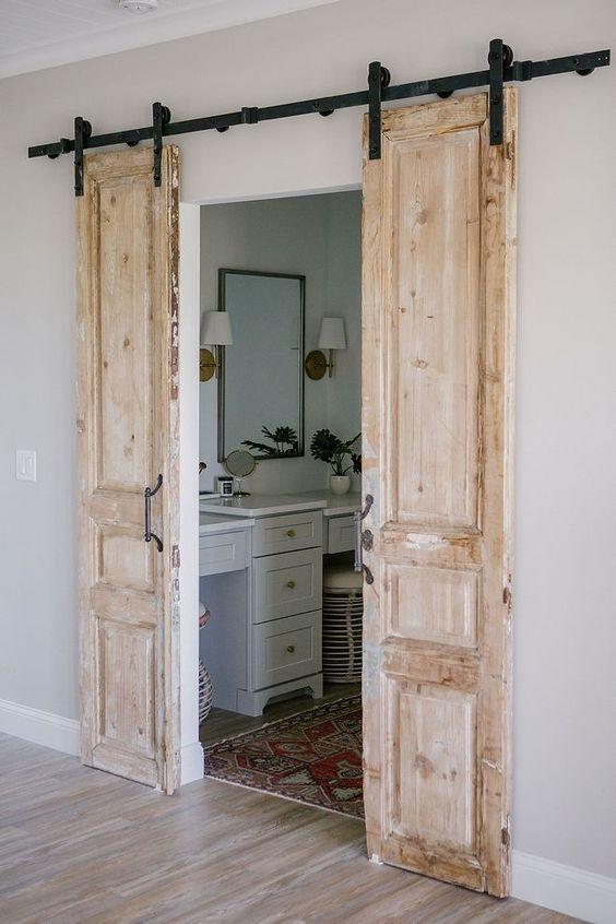 Instalar puertas correderas en baños