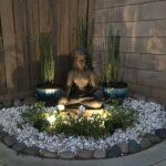 Jardín zen para el hogar