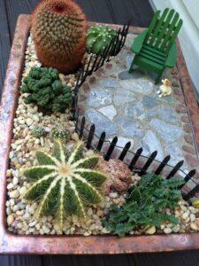 Jardines miniatura hermosos