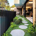 Jardines modernos grandes