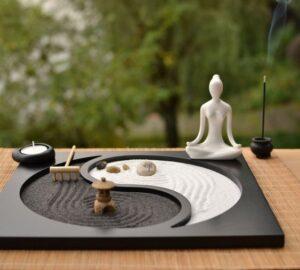 Jardines zen en miniatura