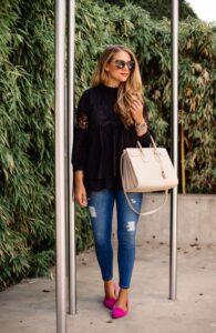 Ideas de looks casuales con jeans de mezclilla