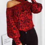 Como combinar el estampado rojo de leopardo