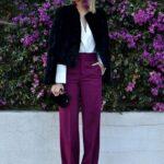 Looks con palazzos color bugambilia primavera - verano