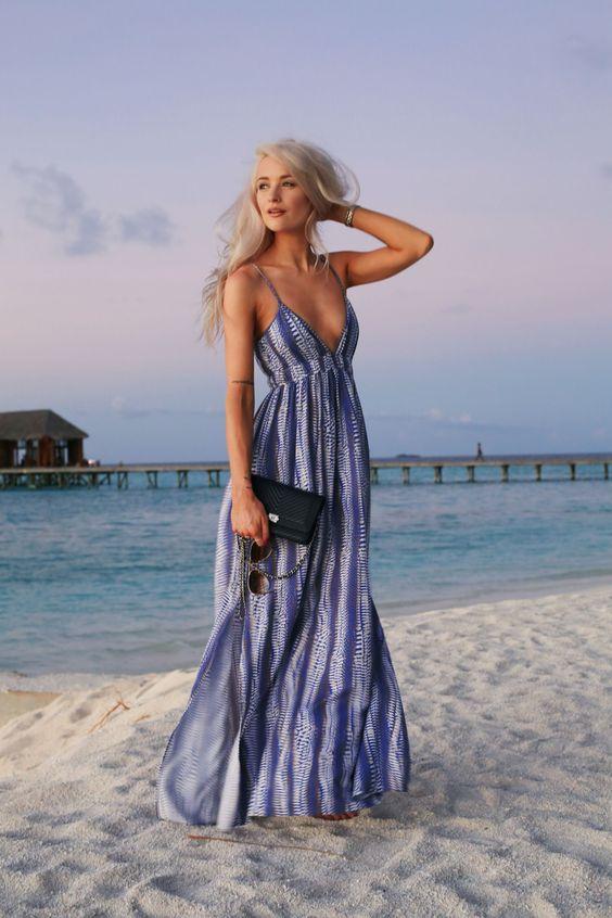 Maxi vestidos para la playa
