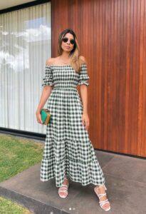 Maxi vestidos para mujeres maduras