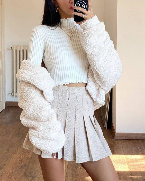 Mini faldas de patoles