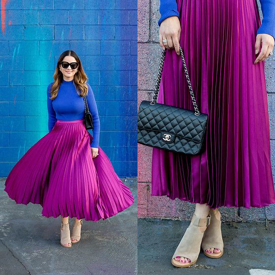 Outfits color bugambilia primavera - verano