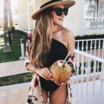 Looks con kimono para la playa