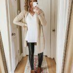 Outfits con leggins de cuero para miércoles