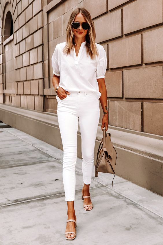 Outfits en color blanco