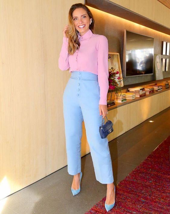 Outfits en tonos pastel
