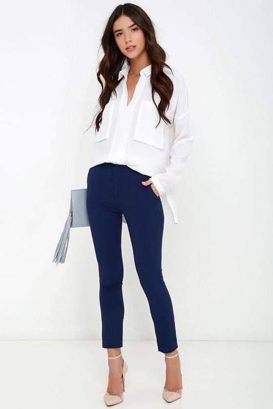 Outfits semi formales para el día a día