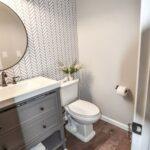 Papel tapiz para baños home depot