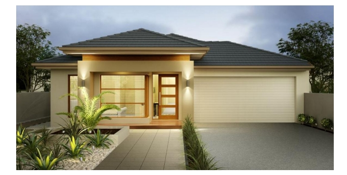 Plans of one-story houses 4 bedrooms 2 bathrooms