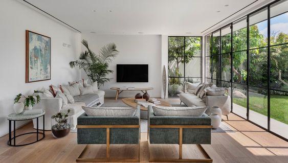 Salas con vista al jardín