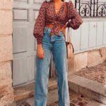 Usa jeans rectos