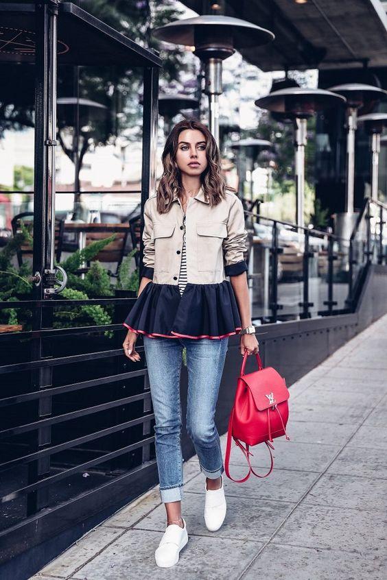 Usa mochilas en vez de bolso