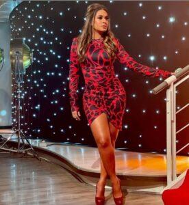 Vestidos con estampado rojo de leopardo