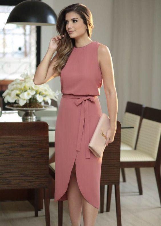 Vestidos elegantes para mujeres maduras