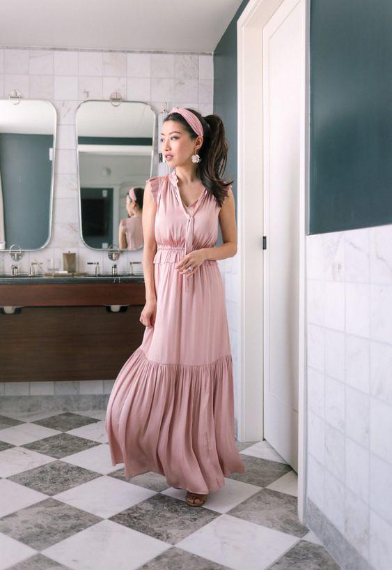 Vestidos maxi para chicas bajitas