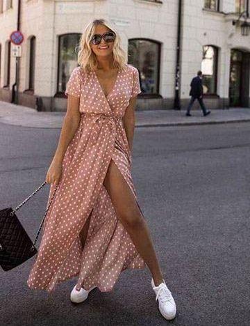 Vestidos para mujeres maduras casuales