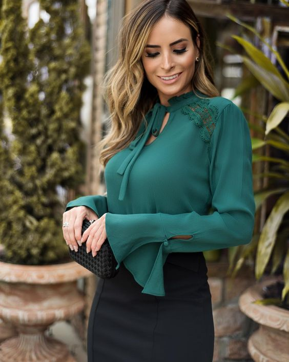 Blusas shein para mujeres maduras