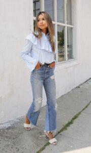Combina camisas con jeans