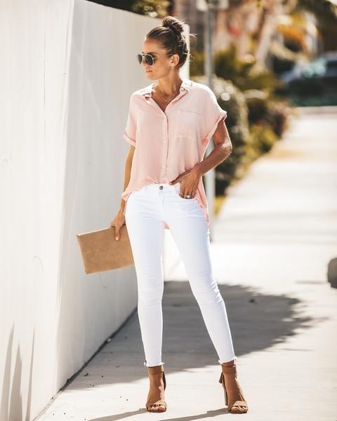 No uses jeans blancos de noche