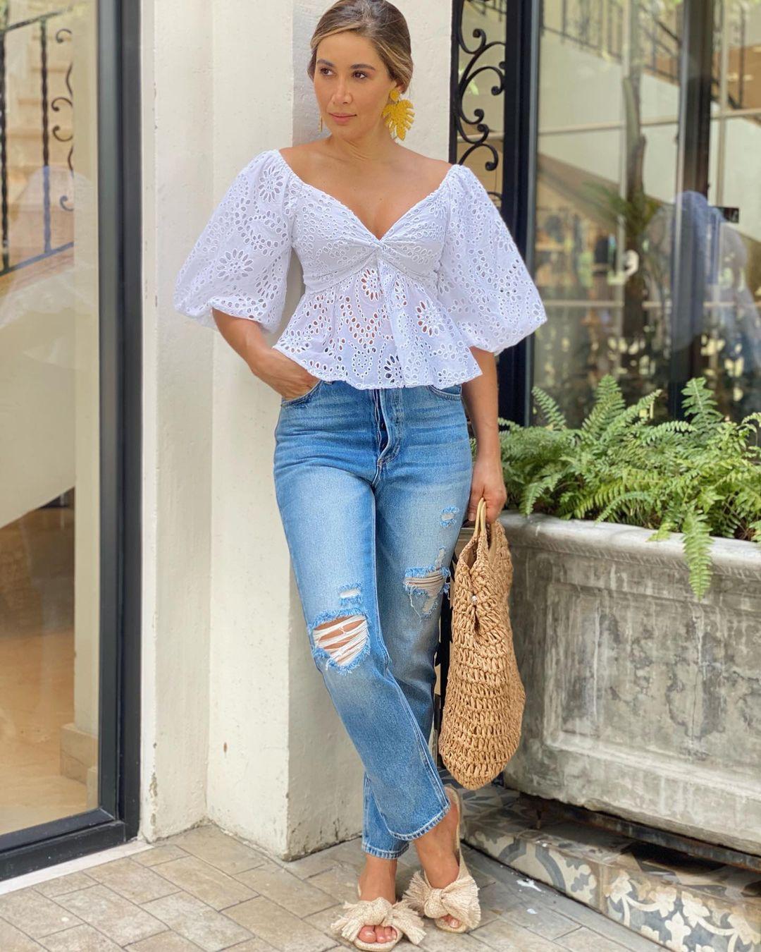 Como lucir elegante con jeans