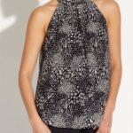 Diseños de blusas cuello halter