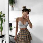 Diseños de faldas juveniles shein
