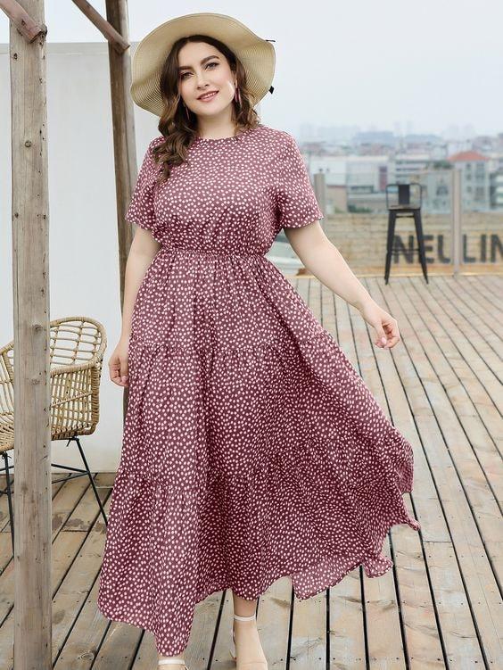 Diseños de maxi vestidos para embarazadas