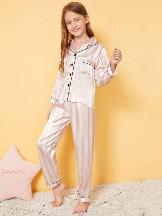 Diseños de pijamas shein para niña