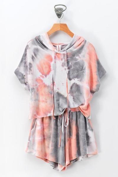 Diseños de pijamas tie dye shein