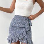Faldas con abertura lateral