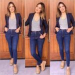 Fantásticos looks casuales conformados por blazers y jeans