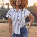 Ideas de blusas a rayas shein