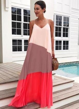 Ideas de maxi vestidos coppel
