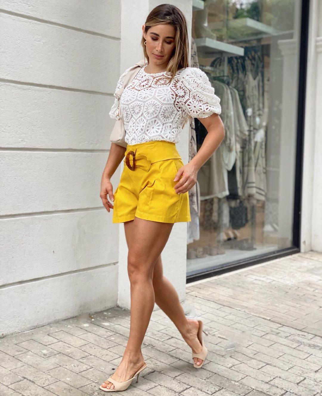 Ideas de outfits con shorts
