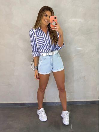 Ideas de outfits con shorts y tenis