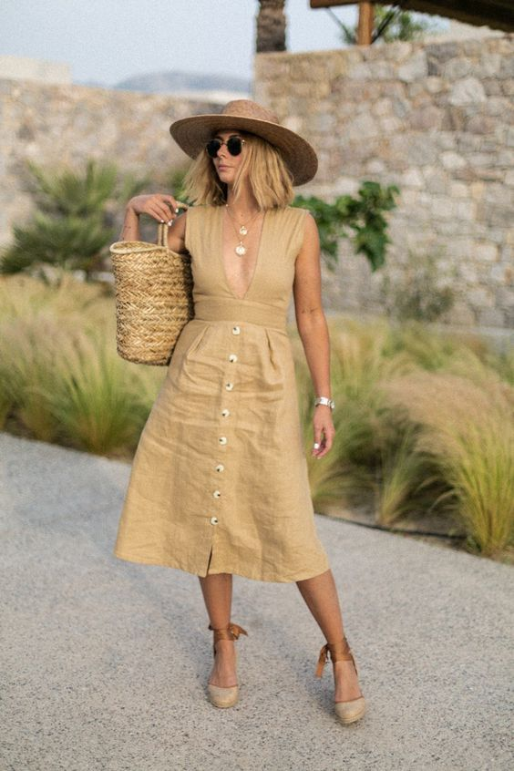 Ideas de vestidos de día casuales para señoras