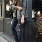 Jeans combinados con blazers