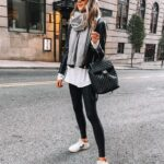 Looks con leggins negros y tenis