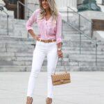 Los pantalones blancos no son para todas